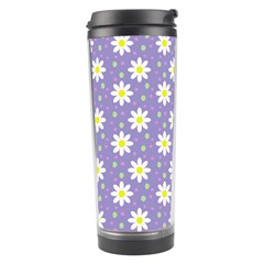 Daisy Dots Violet Travel Tumbler