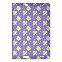 Daisy Dots Violet Amazon Kindle Fire Hd (2013) Hardshell Case