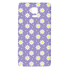 Daisy Dots Violet Galaxy Note 4 Back Case