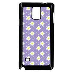 Daisy Dots Violet Samsung Galaxy Note 4 Case (black)