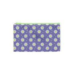 Daisy Dots Violet Cosmetic Bag (xs)