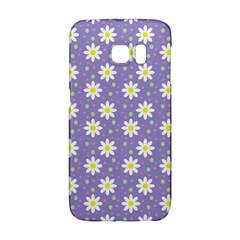 Daisy Dots Violet Galaxy S6 Edge
