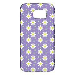 Daisy Dots Violet Galaxy S6