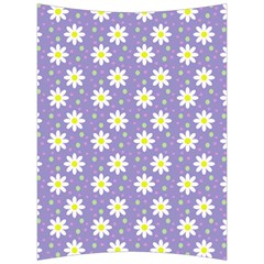 Daisy Dots Violet Back Support Cushion