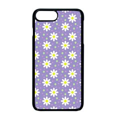 Daisy Dots Violet Apple Iphone 8 Plus Seamless Case (black)