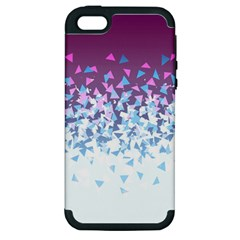 Disintegrate Carnivale Apple Iphone 5 Hardshell Case (pc+silicone)