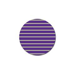 Color Line 1 Golf Ball Marker (4 Pack)