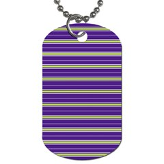 Color Line 1 Dog Tag (two Sides)