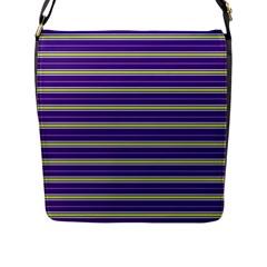 Color Line 1 Flap Messenger Bag (l)