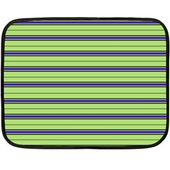 Color Line 2 Double Sided Fleece Blanket (mini)