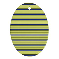 Color Line 3 Ornament (oval)