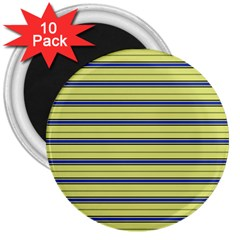 Color Line 3 3  Magnets (10 Pack)