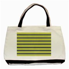 Color Line 3 Basic Tote Bag