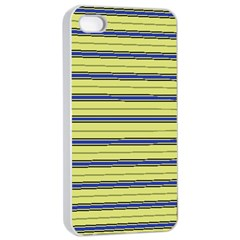 Color Line 3 Apple Iphone 4/4s Seamless Case (white)