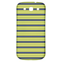 Color Line 3 Samsung Galaxy S3 S Iii Classic Hardshell Back Case