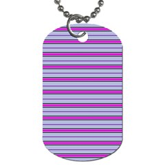 Color Line 4 Dog Tag (two Sides)
