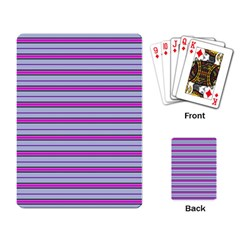 Color Line 4 Playing Card