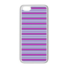 Color Line 4 Apple Iphone 5c Seamless Case (white)