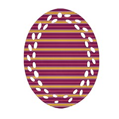 Color Line 5 Ornament (oval Filigree)