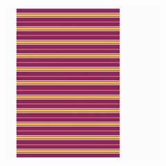 Color Line 5 Small Garden Flag (two Sides)