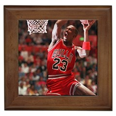 Michael Jordan Framed Tiles