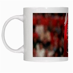 Michael Jordan White Mugs