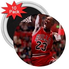 Michael Jordan 3  Magnets (10 Pack)