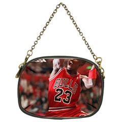 Michael Jordan Chain Purses (two Sides)
