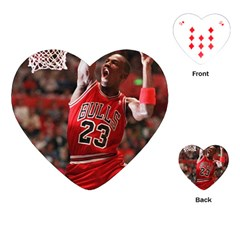 Michael Jordan Playing Cards (heart)