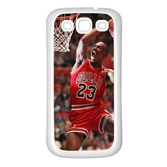 Michael Jordan Samsung Galaxy S3 Back Case (white)