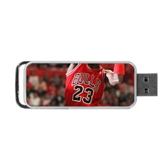 Michael Jordan Portable Usb Flash (one Side)