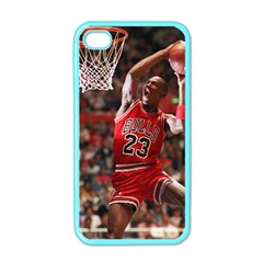 Michael Jordan Apple Iphone 4 Case (color)