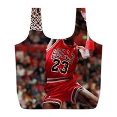 Michael Jordan Full Print Recycle Bags (l)
