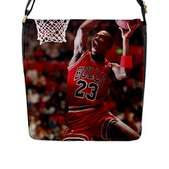 Michael Jordan Flap Messenger Bag (l)
