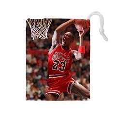 Michael Jordan Drawstring Pouches (large)