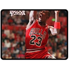 Michael Jordan Double Sided Fleece Blanket (large)