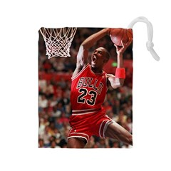 Michael Jordan Drawstring Pouches (large)