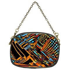 City Scape Chain Purses (one Side)