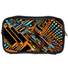 City Scape Toiletries Bags 2 Side