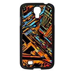City Scape Samsung Galaxy S4 I9500/ I9505 Case (black)