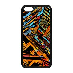 City Scape Apple Iphone 5c Seamless Case (black)