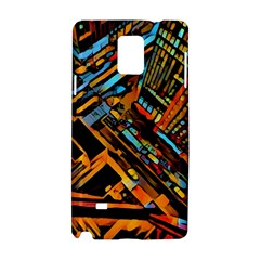 City Scape Samsung Galaxy Note 4 Hardshell Case