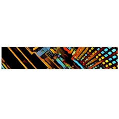 City Scape Large Flano Scarf
