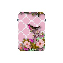 Shabby Chic,floral,bird,pink,collage Apple Ipad Mini Protective Soft Cases