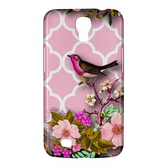 Shabby Chic,floral,bird,pink,collage Samsung Galaxy Mega 6 3  I9200 Hardshell Case