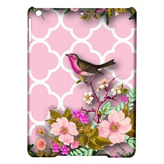 Shabby Chic,floral,bird,pink,collage Ipad Air Hardshell Cases