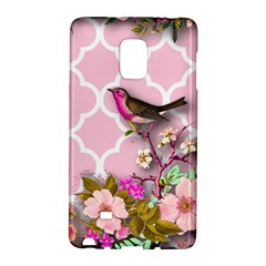 Shabby Chic,floral,bird,pink,collage Galaxy Note Edge