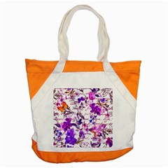 Ultra Violet,shabby Chic,flowers,floral,vintage,typography,beautiful Feminine,girly,pink,purple Accent Tote Bag