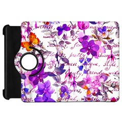 Ultra Violet,shabby Chic,flowers,floral,vintage,typography,beautiful Feminine,girly,pink,purple Kindle Fire Hd 7