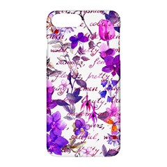Ultra Violet,shabby Chic,flowers,floral,vintage,typography,beautiful Feminine,girly,pink,purple Apple Iphone 8 Plus Hardshell Case